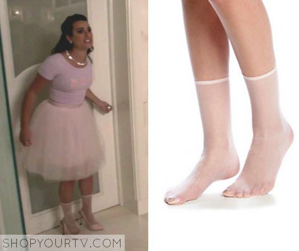 Scream Queens: Season 1 Episode 7 Hester's Sheer Ankle Socks