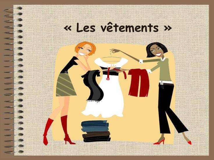 Vocabulaire : Les vêtements