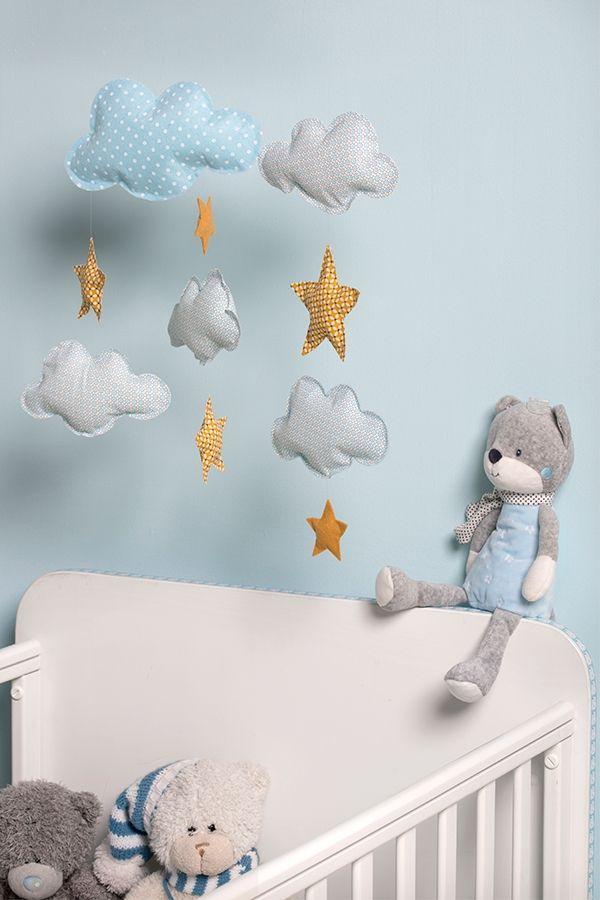 Mobile Bebe Facile A Fabriquer Artemio Decoration De Chambre D Enfant Decoration Chambre Chambre Enfant