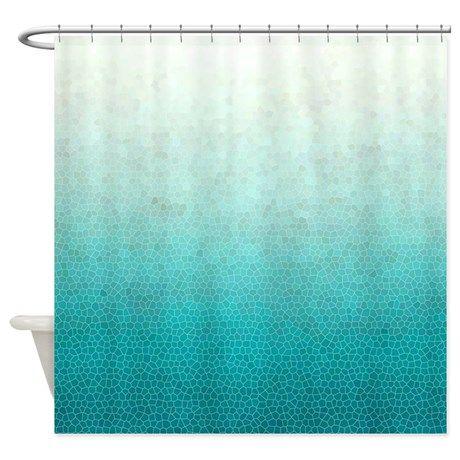 Top 25 Ideas About Teal Shower Curtains On Pinterest Purple Bathrooms Merm