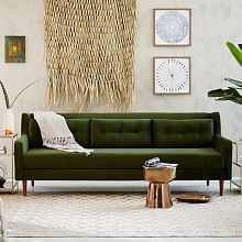 Small Sectional Sofa Monroe Mid Century Sofa uquot Contemporary