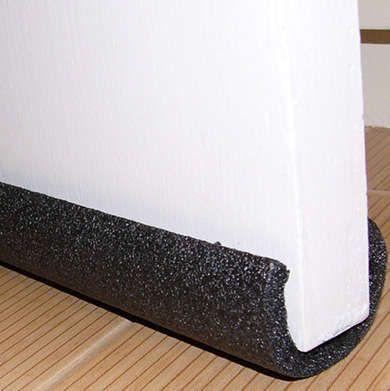 Pipe Insulator Draft Blocker