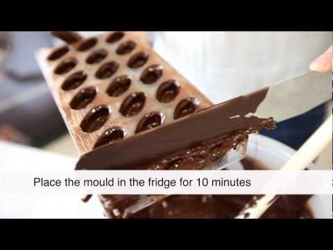 Čokoládové pralinky s náplní Praline   KITCHENETTE