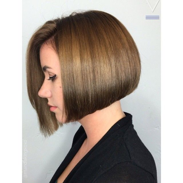 WEBSTA @ velvethairlounge - Remember that awesome undercut from a couple of days ago? Well it's under this beautiful aline bob @mandakingxoxo @jessicarabbit320