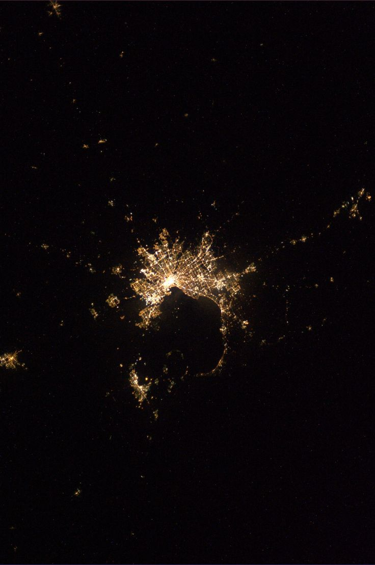 Melbourne, Australia.  Taken August 15, 2013.  KN from space.