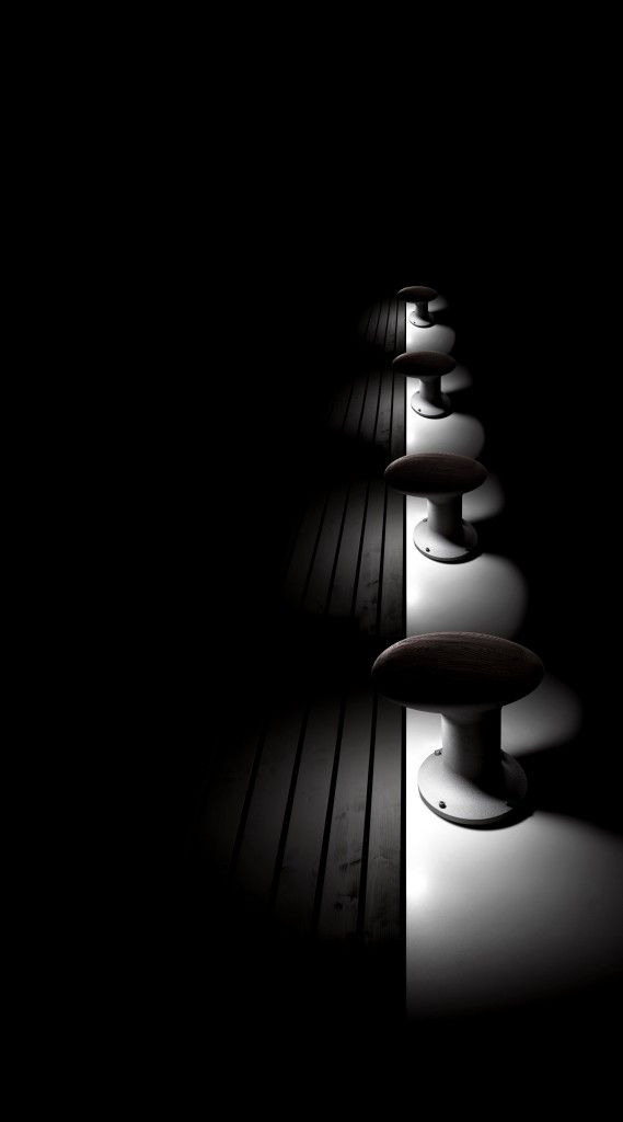 Bitta LED outdoor lamp, Torremato by Il Fanale