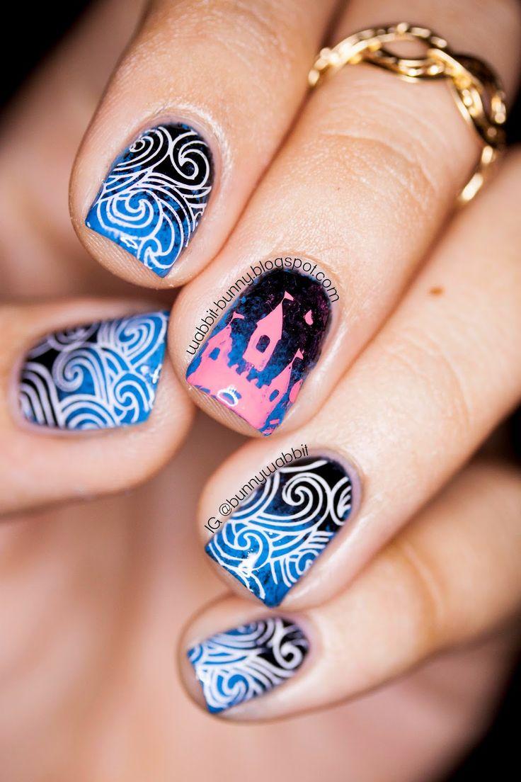 56 best Nails - Themed images on Pinterest | Nail scissors, Disney ...