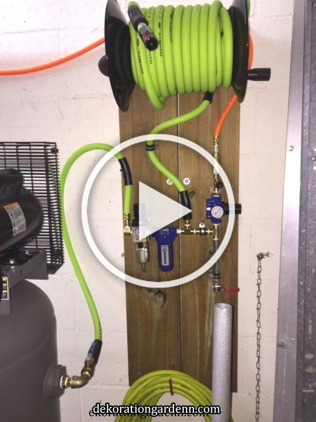 Amazon Com Flexzilla Swivel Whip Air Hose 3 8 In X 4 Ft 1 4 Mnpt Ball Swivel X 1 4 Fnpt Ends Heavy In 2020 Diy Garage Garage Storage Organization Garage Storage