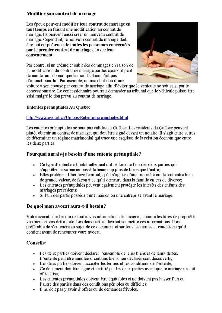 Le contrat de mariage au QC infos_Page3