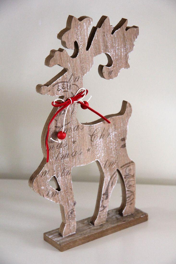 Wooden Christmas Nordic Reindeer