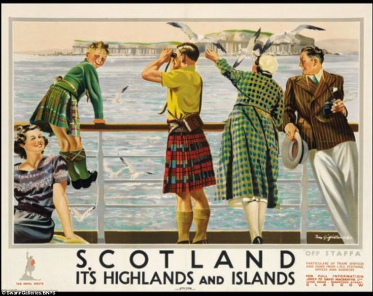 Vintage travel posters of British seaside resorts set to be auctioned #dailymail