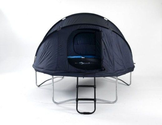 Trampoline Tent for 10ft Trampoline | Atlantic Trampolines - Wish. Wish. Wish!!!  Man I wish I had this when I was little..
