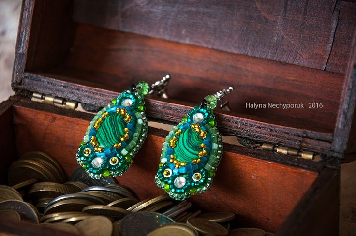 Earrings by Halyna Nechyporuk 2016
