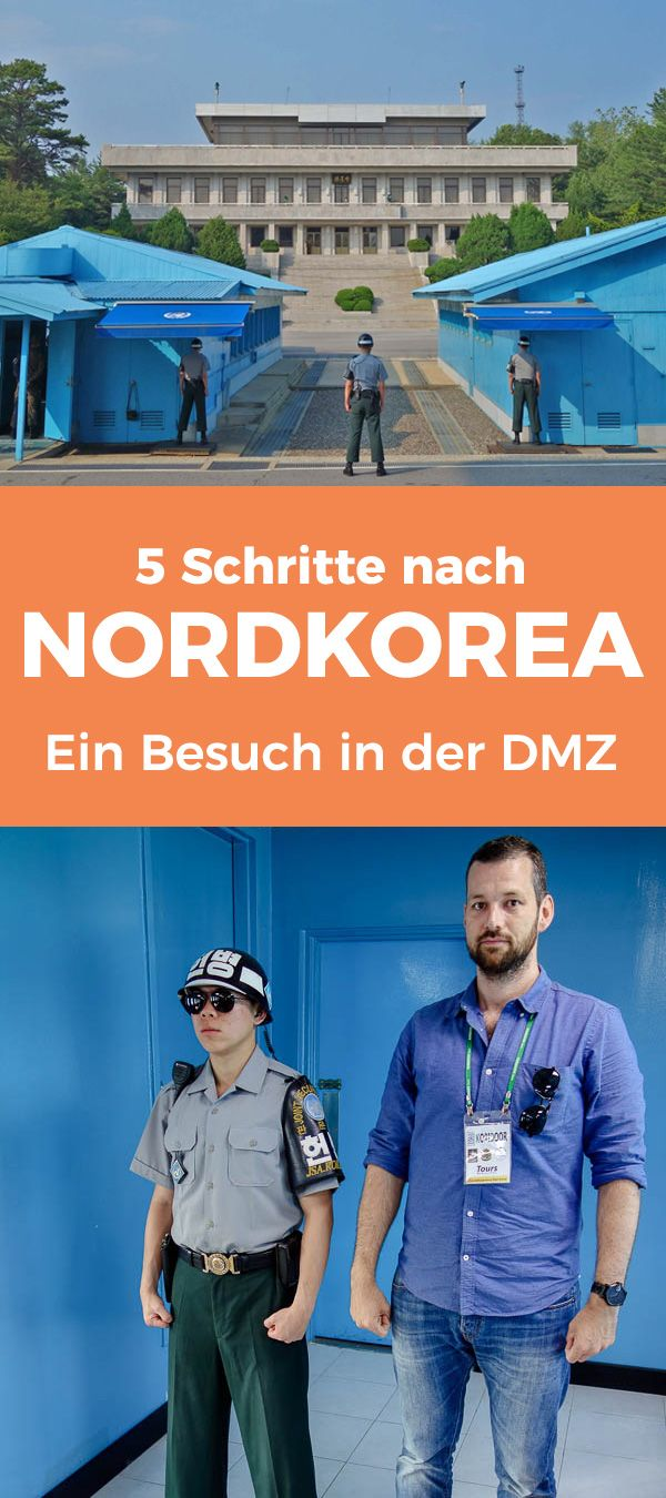 5 Schritte nach Nordkorea - Ein Besuch in der DMZ (Demilitarisierten Zone) zwischen Nordkorea und Südkorea
