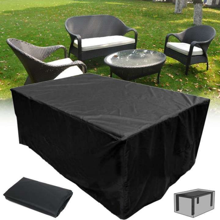 10 Inspiring Black Patio Furniture Covers Collection Black