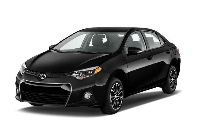 2016 Toyota Corolla S Black