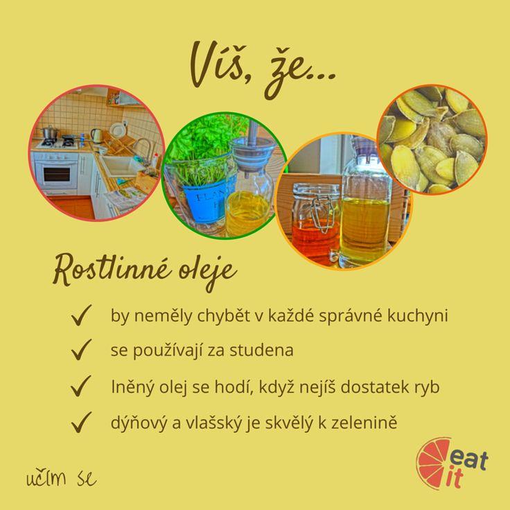 Víž, že rostlinné oleje… — eat it