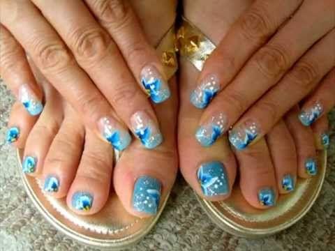 Diseños para uñas de los pies