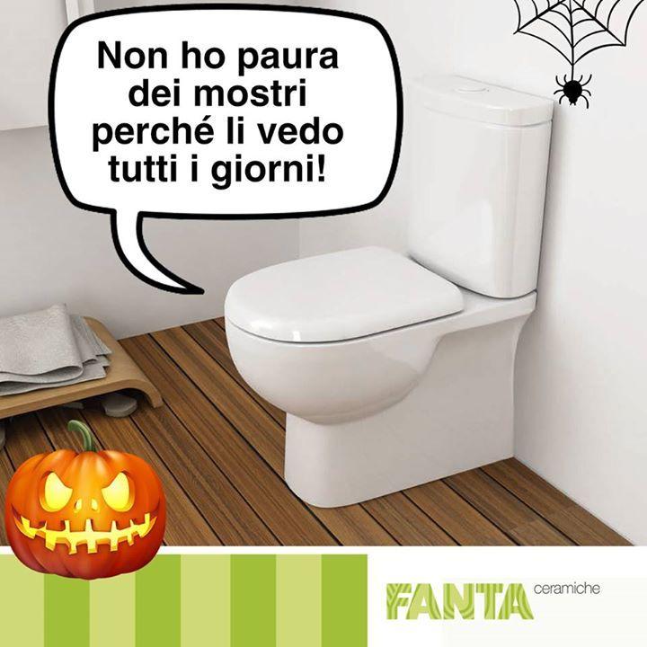 #Halloween è una festa che non ci spaventa!   http://ift.tt/2f9ou9g #Fantaceramiche #Sanitari #Halloween2017