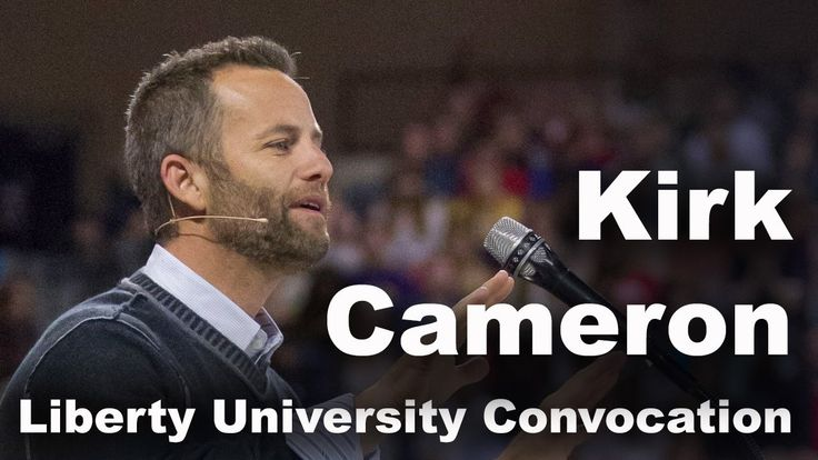 Kirk Cameron - Liberty University Convocation This is a good one