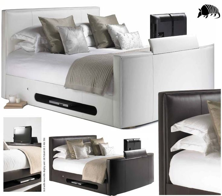 Bed includes a whisper quiet motorised TV lift, the latest 26 inch Samsung HD ready TV.