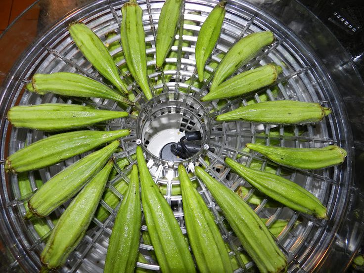 Dehydrated Okra | The Texas Pioneer Woman