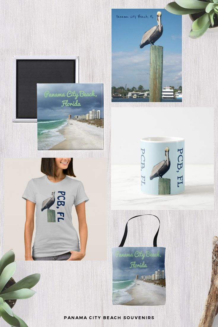 Panama City Beach Souvenirs designed by bethanydesigns and printed by Zazzle
