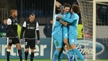 Danny, Bruno Alves & Axel Witsel (FC Zenit St Petersburg) | Zenit 2-2 Málaga. 21.11.12.