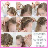 Gaya Rambut simpel perempuan