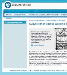 Wellamo-opisto Lahdessa on Suomen oloissa aivan poikkeuksellinen sukututkimuskoulutuksen järjestäjä.