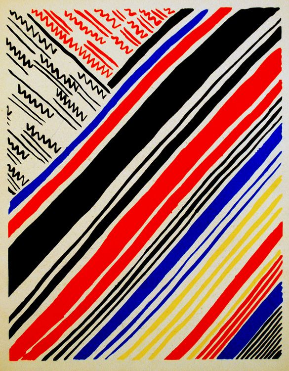 Composition 11, 1930, Sonya Delaunay: Colour, Sonia Delaunay, Fabric Patterns, Art Patterns Textiles, Geometric Pattern, Color Pattern Texture Design, Colors, Google Search, Art Stripes