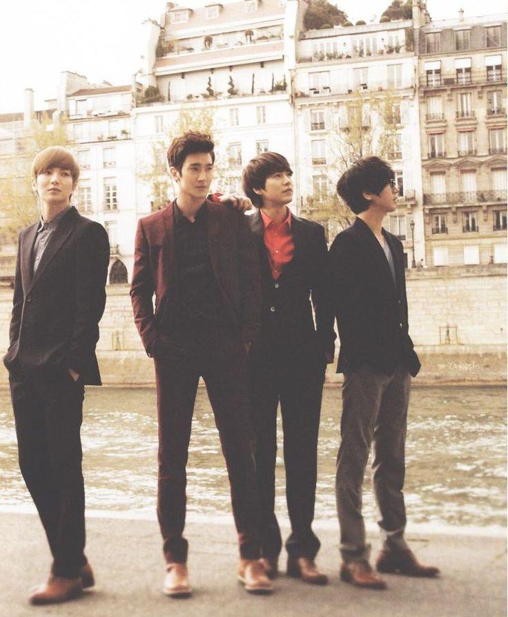SUPER JUNIOR | ★ Park Jungsoo/Leeteuk, Choi Siwon, Cho Kyuhyun and Kim Joongwoon/Yesung..