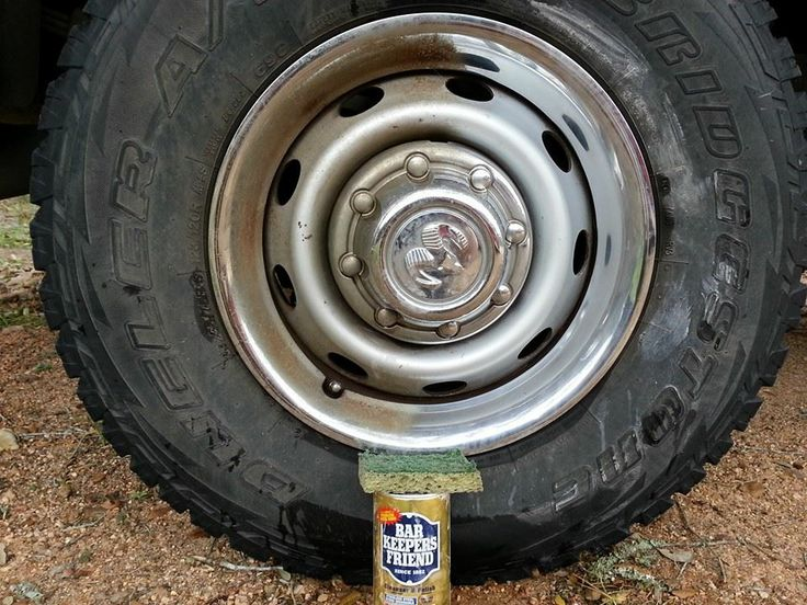 Use Bar Keepers Friend To Remove Grease Rust And Grime