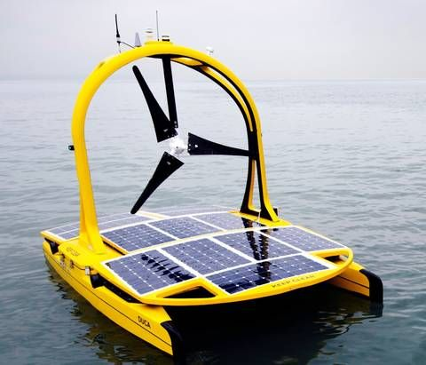 Solar and wind-powered sea vehicle will solve mysteries of the Celtic Deep : TreeHugger