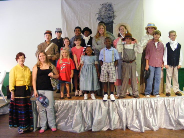 The children of Union Point as the cast of Firefly on the Lick