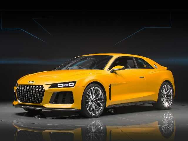 The 2017 Audi Sport Quattro Coupe will be available with either a 5 cylinder or optional 8 cylinder engines
