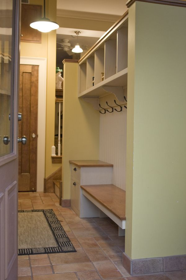 1000 ideas about attached garage on pinterest finished for Garage mudroom designs