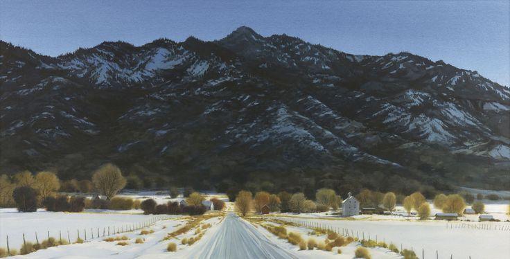 Pine Valley Winter Panorama   Utah hiking trails, Pine ...