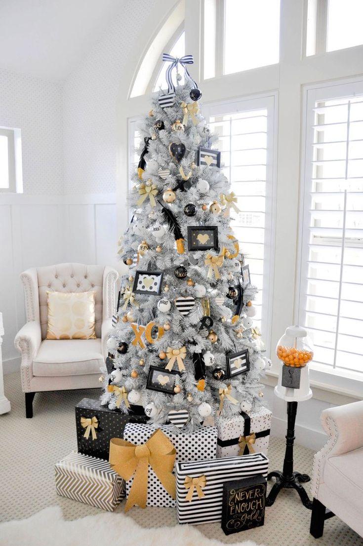 мировая тенденция дизайнерские новогодние елки фото встречи ильей она