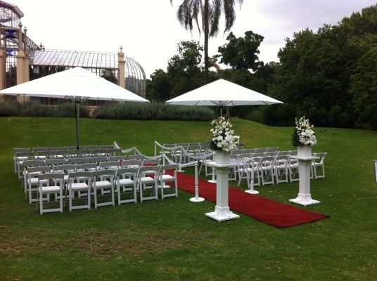 #WeddingVenues - The Adelaide Botanic Garden is a 125-acre (51 ha) public garden at the north-east corner of the Adelaide city centre, in the Adelaide Park Lands. It encompasses a fenced garden on North Terrace (between the Royal Adelaide Hospital and the National Wine Centre) and behind it the Botanic Park (adjacent to the Adelaide Zoo). The Adelaide Botanic Garden, together with the Wittunga and the Mt Lofty Botanic Gardens, comprise the three Botanic Gardens of Adelaide.
