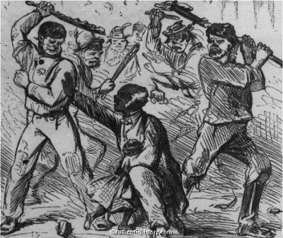 US Slave: Testimony from Victims of New York's Draft Riots, July, 1863