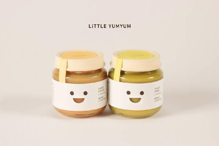 Baby food packaging by Juliette Kim