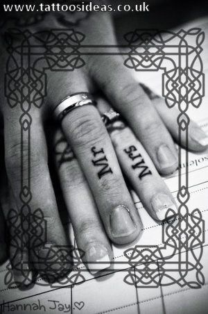 http://www.tattoosideas.co.uk - Tattoo of the day(hmmmm maybe on the inside of the ring finger?) =]