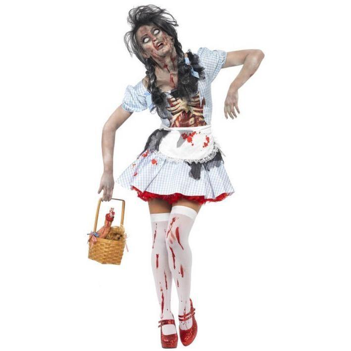 Disfraz de Dorothy Mago de Oz zombi para mujer