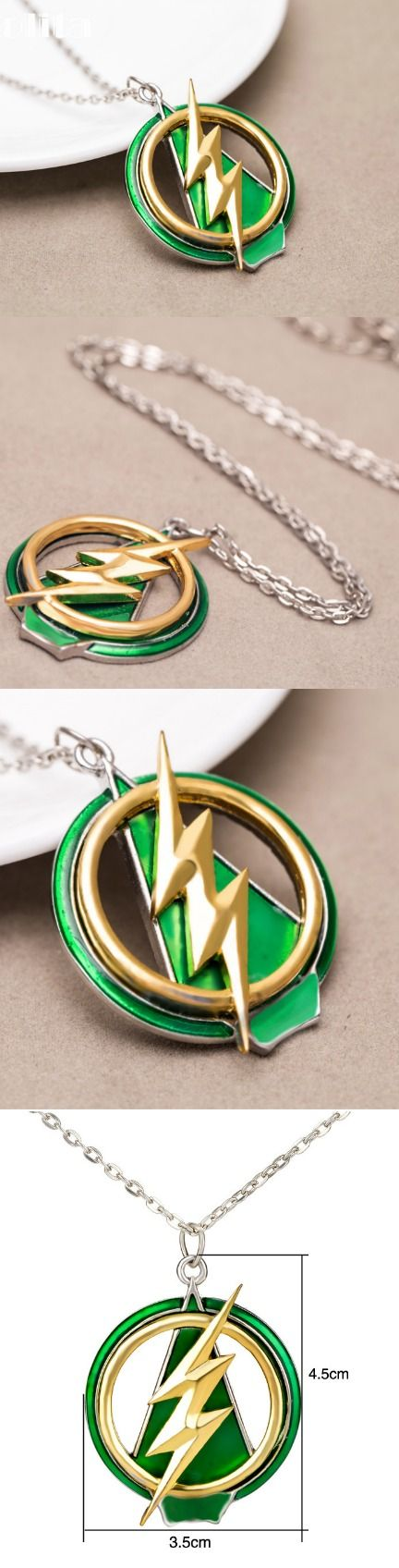 The Flash And Arrow Pendant Necklace! Click The Image To Buy It Now or Tag Someone You Want To Buy This For. #TheFlash