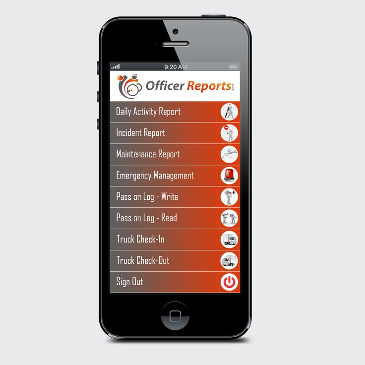 Here is our new app user interface We are getting there Paper - what is an daily incident reports