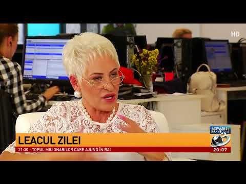"""Lidia Fecioru, leacul zilei: """"Se iau șase căței de usturoi care se prăjesc în coajă și se c - YouTube"""