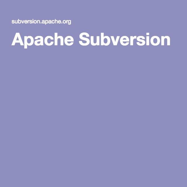 Apache Subversion