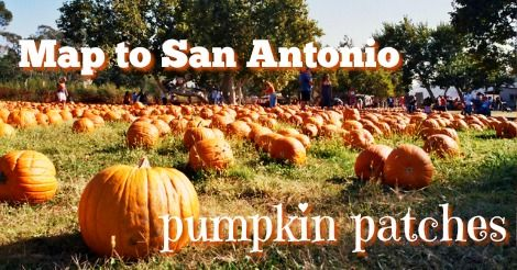 Massive list of pumpkin patches in San Antonio area! Now... how to visit them all?... #ilovefall | Our map to San Antonio pumpkin patches - San Antonio Mom Blogs ™