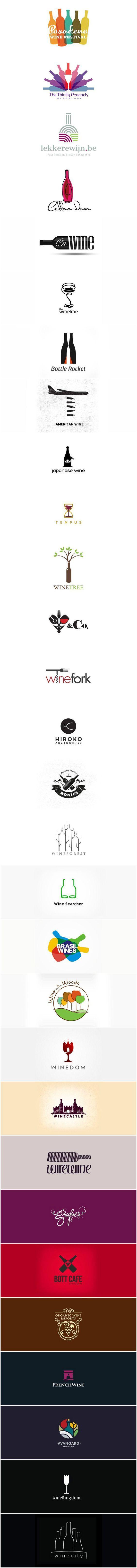 logos of wine #logo #wine: